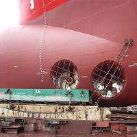 MARINE INDUSTRY - INSPECTION OF CATHODIC PROTECTION